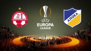 Europa League APOEL vs Hapoel Beer Sheva
