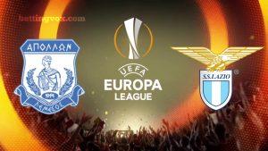 Apollon Limassol vs Lazio Europa League