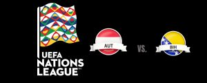 UEFA Nations League Austria vs Bosnia and Herzegovina