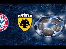 Bayern Munich vs AEK Athens Champions League 7/11/2018