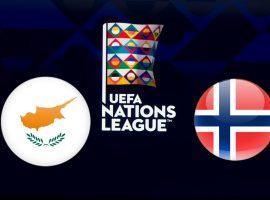 Cyprus vs Norway UEFA Nations League 19/11/2018
