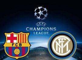 FC Barcelona vs Inter Champions League 24/10/2018