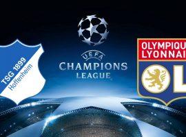 Champions League Hoffenheim vs Lyon 23/10/2018