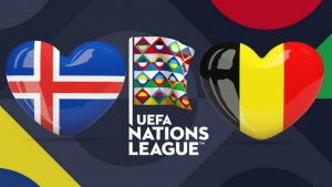UEFA Nations League Iceland vs Belgium