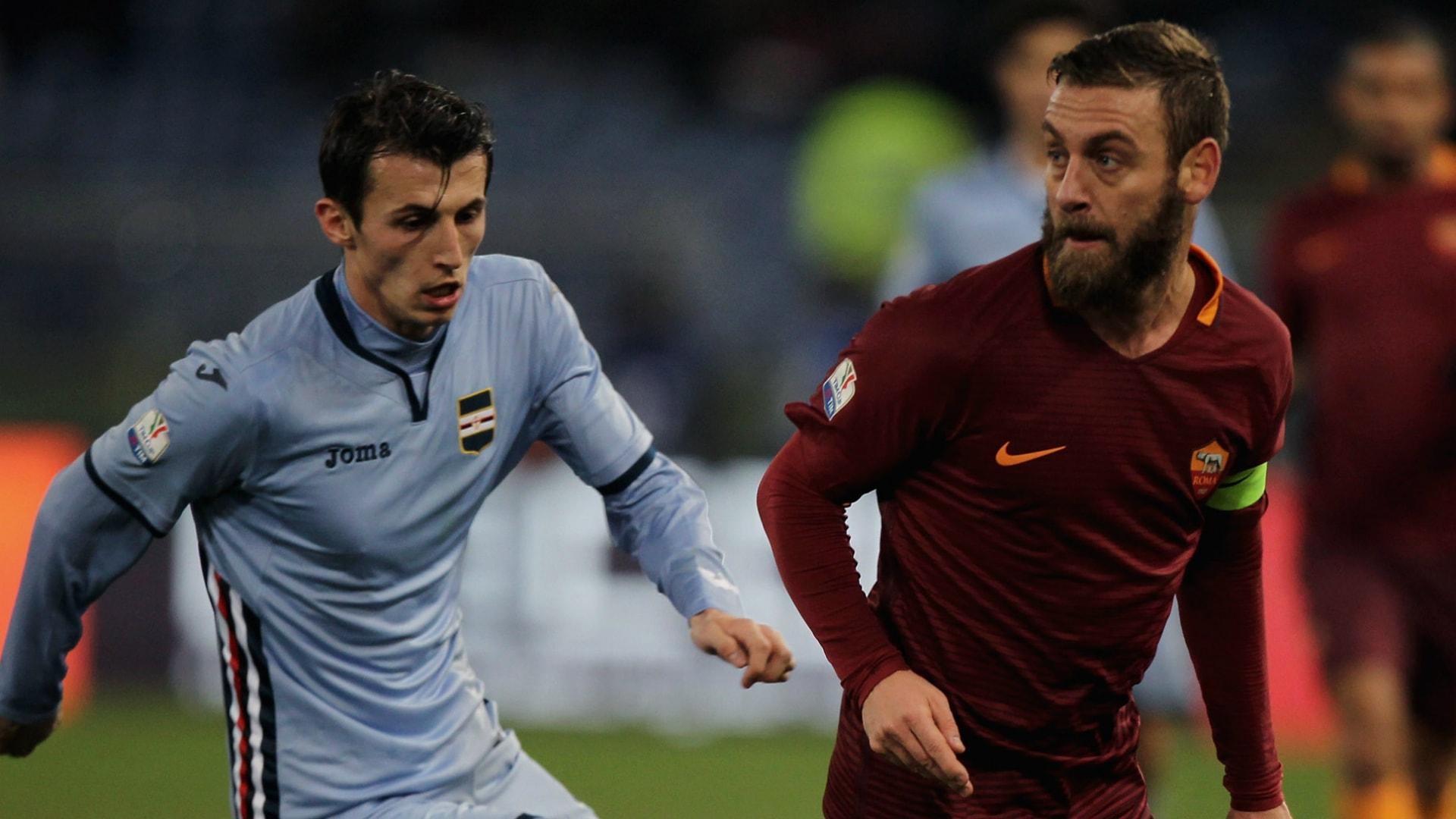 Sampdoria Genoa - AS Roma (PREVIEW) 24.01.2018