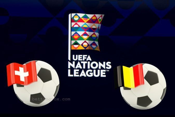 Switzerland vs Belgium UEFA Nations League 18/11/2018