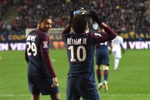 Amiens PSG CUP - Neymar shoe